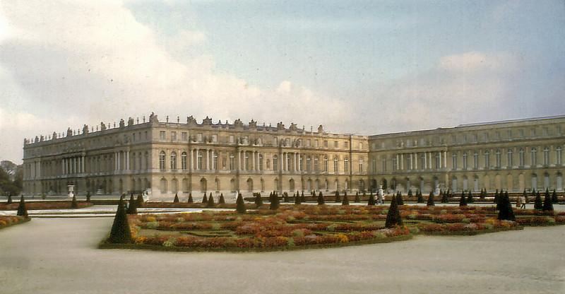 Palais de Versailles France - Oct 1978