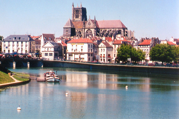 La Marne Meaux France - Jul 1996