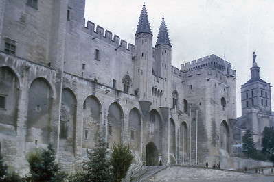Palais des Papes Avignon France - Jan 1979