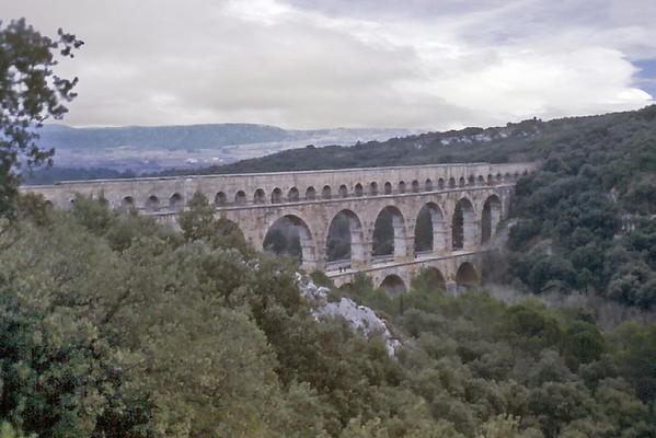 Pont du Gard France - Jan 1979