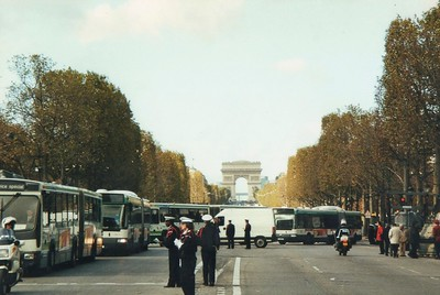 Study abroad.  Trip to France.