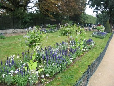 Gardens at Notre Dame.