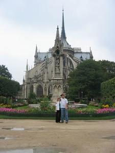 Ian & Mara'D and gothic gardens.