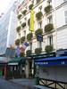 Paris - Rue Cler -- Hotel Grand Leveque front entrance