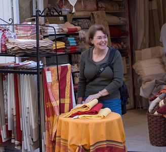 Aix-en-Provence: but first we shop
