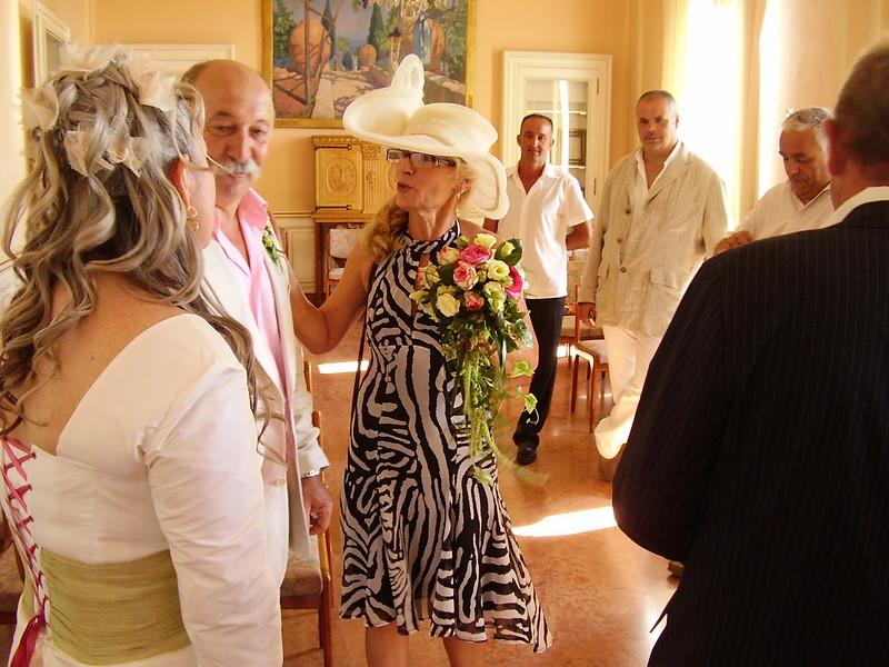 Nella greets Daniel and Muriel.