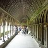 Mont Saint-Michel cloister