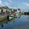 Port En Bessin harbor on Normany coast