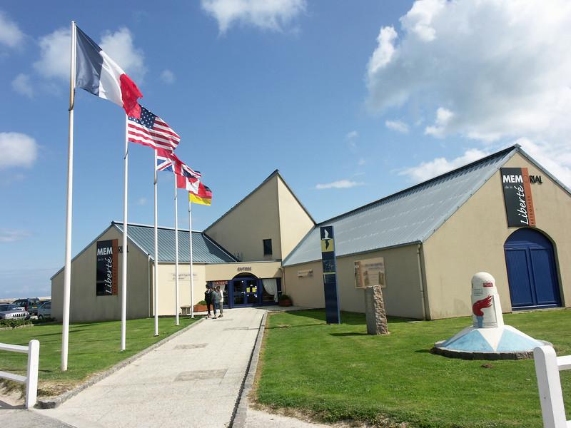 Memorial de la Libertie - Museum in Quineville about occupied France in World War II