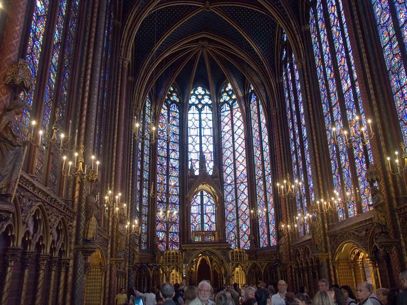 La Sainte-Chapelle Gothic chapel