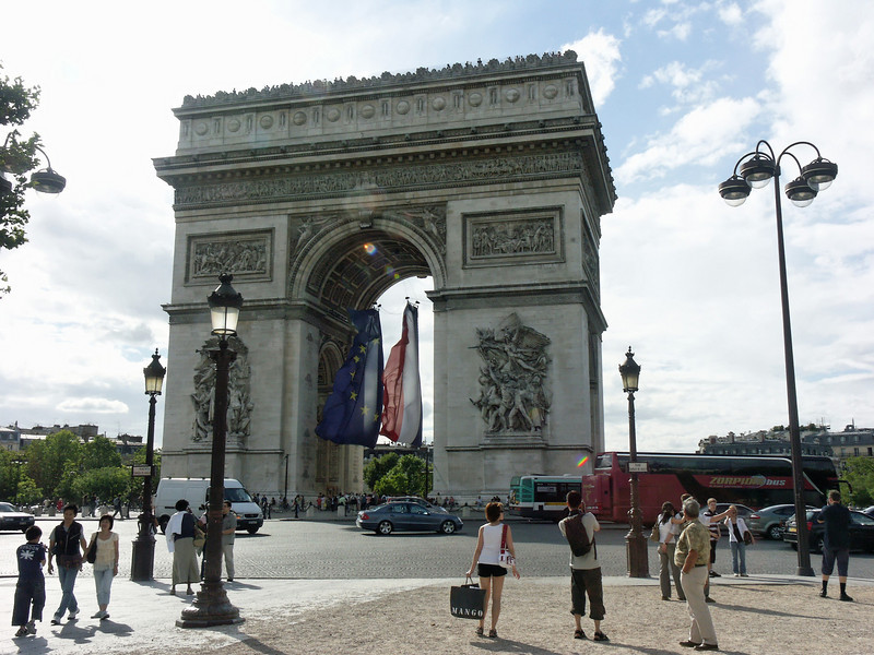 Arc de Triomphe (completed 1836)