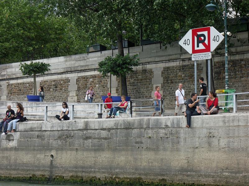 Paris Plages (Paris beaches) - Seine boat tour  - Les Vedettes du Pont-Neuf