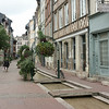Rue Eau-de-Robec, rouen. Canal was built to serve cloth merchants who needed a source of water for dying.