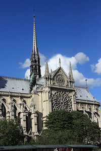 Notre Dame, South Rose Window