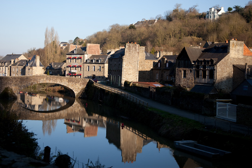 Dinan by the river. Henry took this one.