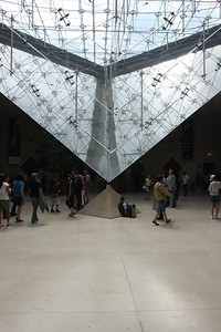 Musee du Louvre - Inverted Glass Pyramid