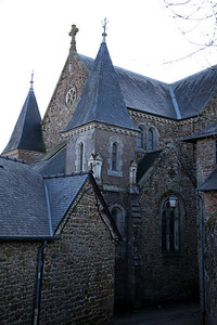 Another gorgeous French church, this one in Bécherel
