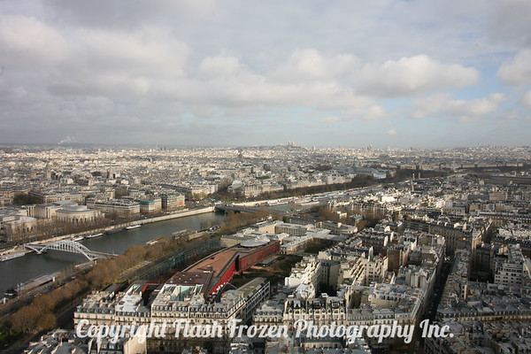 View from the Tower - of the Seine