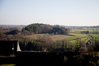 Bécherel was fortified during the 100 years war due to its strategic view of the valley
