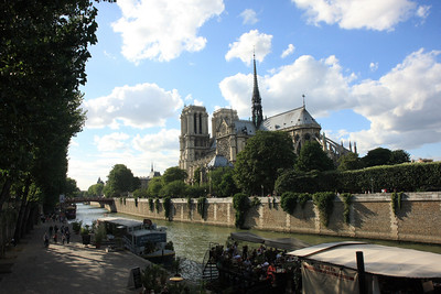 Notre Dame, View from the Left Bank