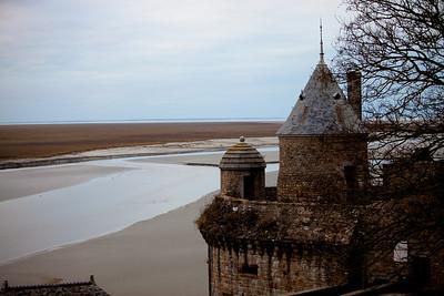 Mont St-Michel turret