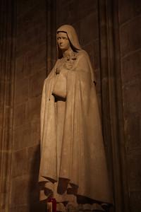 Notre Dame, Interior - Sculpture