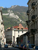 Everywhere you look in Grenoble, there are mountains