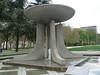 Fountain commemorating Grenoble's 1968 Winter Olympics