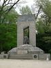 Memorial for alpine troops from World War II