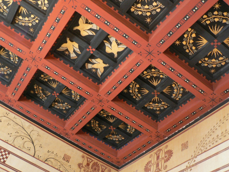 Ceiling at the Villa Kerylos