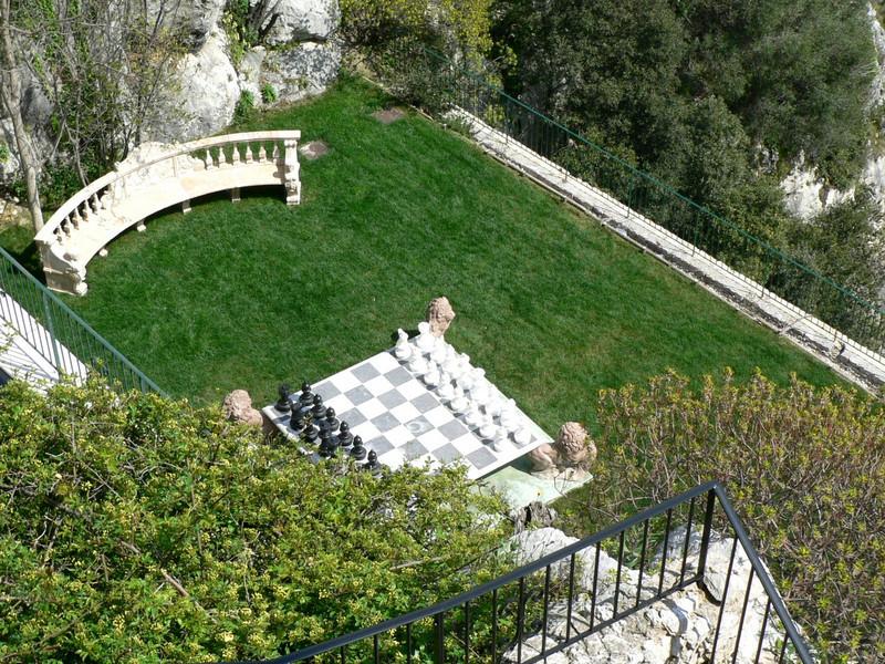 View from beside the Chateau de la Chevre d'Or