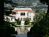 Looking back at the Villa Ephrussi de Rothschild from the garden