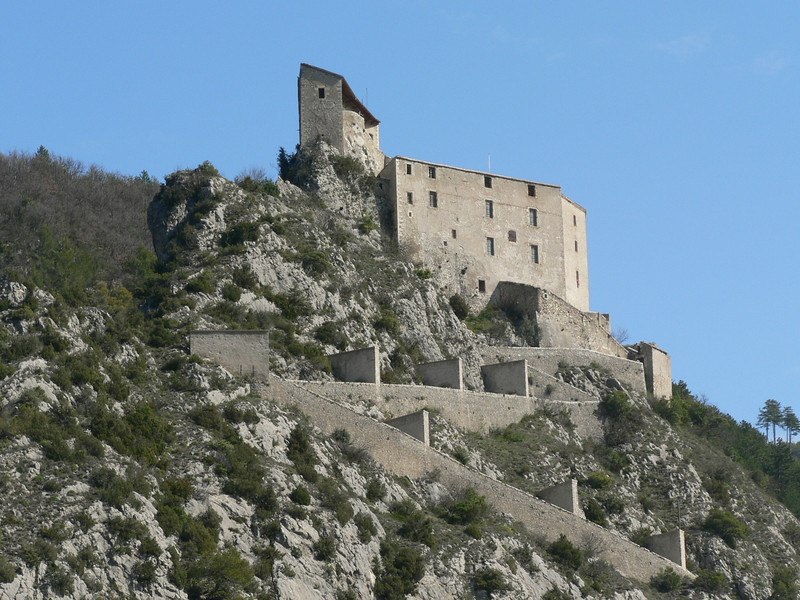 The castle, Entrevaux