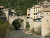 The bridge to Entrevaux