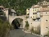 The bridge to Entrevaux