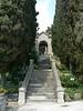 The entrance to the Giardini Botanici Hanbury near Ventimiglia