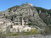 General view of Entrevaux