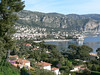 The view from the Villa Ephrussi de Rothschild