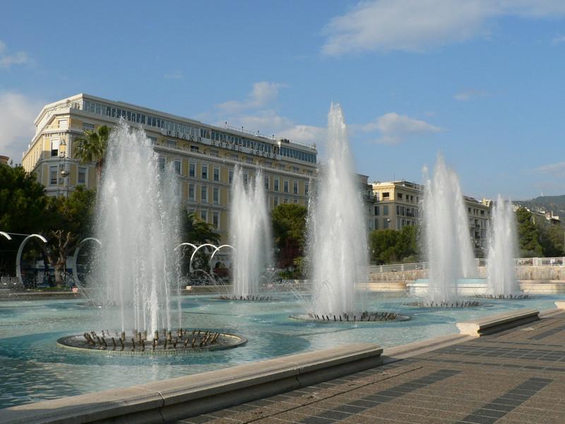 Fountains near Place Massena
