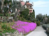 Walkway at the top of the Giardini Botanici Hanbury near Ventimiglia