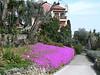 Walkway at the top of the Giardini Botanici Hanbury near Ventimiglia