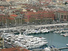 View of the port in Nice