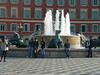 Another of Nice's many fountains, in the Place Massena
