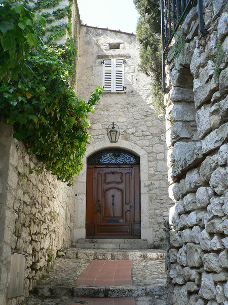 Typical street, Eze