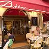 Cafe on the Place de Tertre (Montmartre)