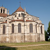 The basilica, a UNESCO heritage site: At Vezelay, a larger village (of 300!) near Blannay