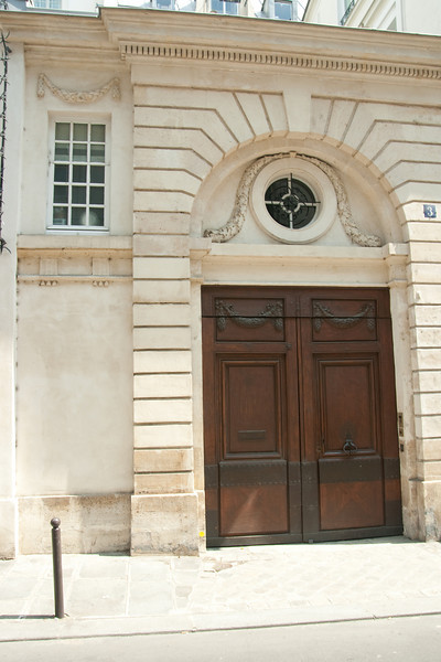 Front Door?: In the Quartier Latin