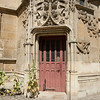 Cluny side door: What's behind the red door?