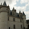 The château: At the château of Amboise, towering over the city of the same name, in the Loire Valley, France. Amboise was a favorite of the old Orleans branch of the Bourbon monarchy of France.