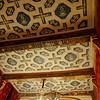 Chateau des Ducs de Brissac. Ceiling panels.